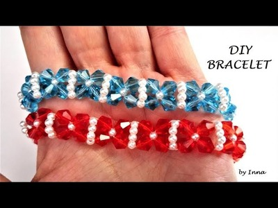 How to make a bracelet in less than 10 minutes. DIY tutorial