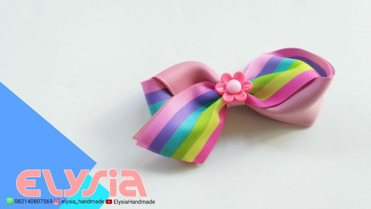 Laço Alexa ???? Ribbon Bow ???? DIY by Elysia Handmade