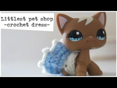 ღ Littlest Pet Shop. How to Crochet a Short-haired Cat Dress ღ
