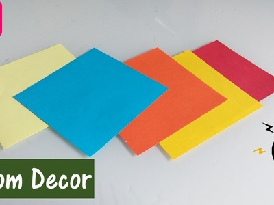 Paper crafts | easy diy room decor | paper wall decor ideas | best craft idea | budget decor ideas