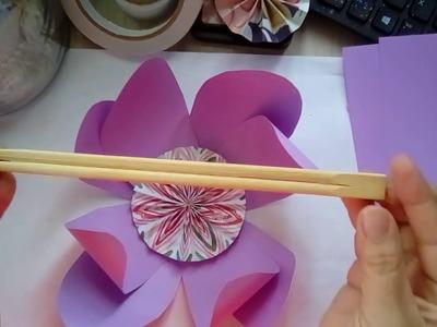 """Paper Flower """"Curl Tool"""" Hack and DIY Flower Tutorial"""