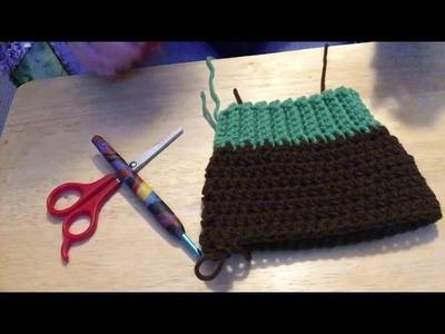 XS Crochet Dog Hoodie Revised