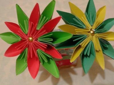 Best Craft Idea | Nice craft idea.Blumen aus papier.Diy arts and crafts.Amazing idea.Amazing Flowers