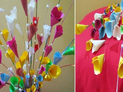 Broomstick Crafts Diy || Broomstick Craft Ideas || Broomstick Decoration || Broomstick Flower,