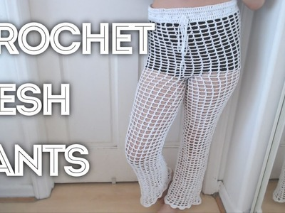 Crochet Mesh Pants | Tutorial DIY