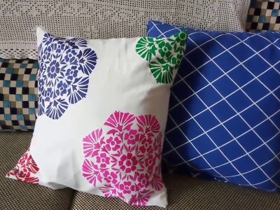 DIY-16 Cushion cover with Dark Painting