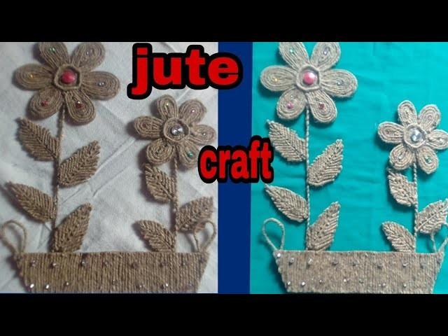 Diy Jute Wall Hanging Jute Craft Idea Jute Wall Decor Best Out