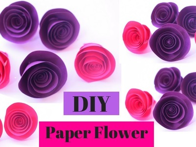 Paper how to create flower from paper by craft school diy paper diy paper flowers tutorial diy paper roses mightylinksfo