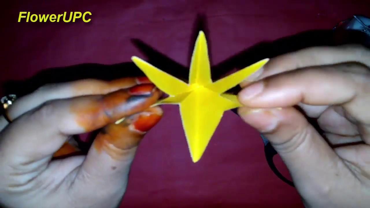Origami for beginner #5 - Flower - 動画 Dailymotion | 720x1280