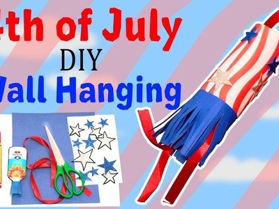 DIY Wall Hanging Ideas | Patriotic Wall Hanging | July 4 Independence Day