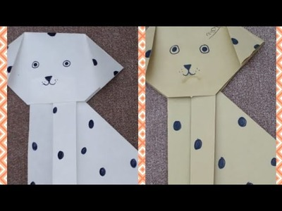 Easy origami Paper puppy. How to make a paper Puppy (Easy DIY) How to make a Paper Dog?