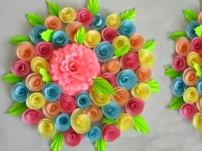 How to make paper bouquet | phooldan | paper ka guldast | crazy craft by Atul Chourasiya
