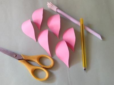 How to make peaper flower Peaper craft