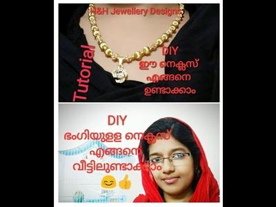 Jewellery Designs.DIY. Tutorial of necklace making