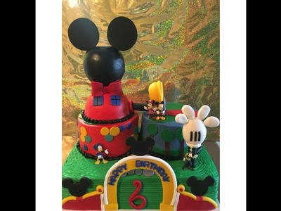 Mickey Mouse Clubhouse 1 | Disney Cakes | DIY & How to