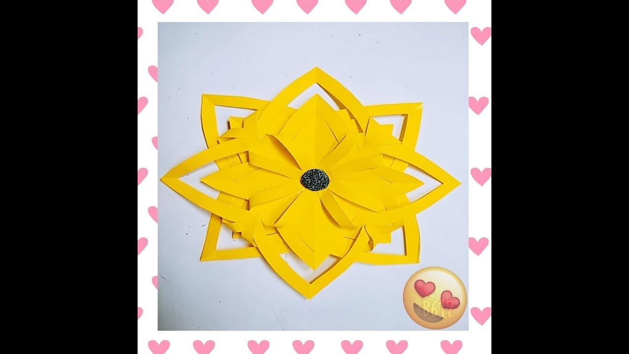 Paper flowers ll easy to make paper flowers ll craft for kids paper flowers ll easy to make paper flowers ll craft for kids llcrafts craze mightylinksfo