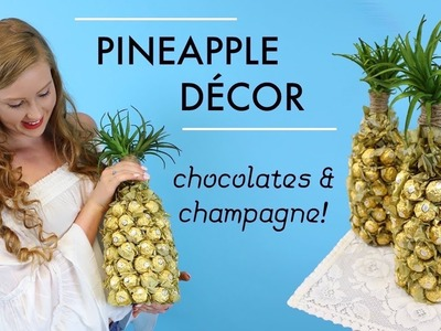 Pineapple Decor DIY Tutorial   Ferrero Rocher