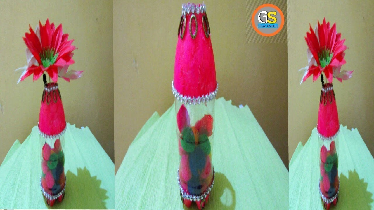 Recycled Plastic Bottle Craft Plastic Bottle Craft Ideas