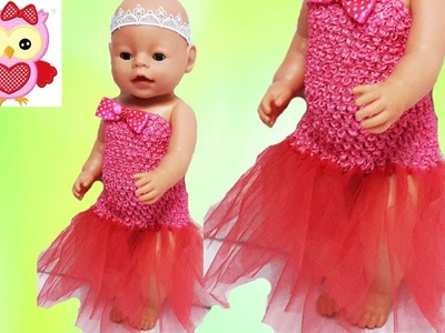 Tutu DIY Crafts for Girls and Dolls Tutorial Easy How To Make a No Sew