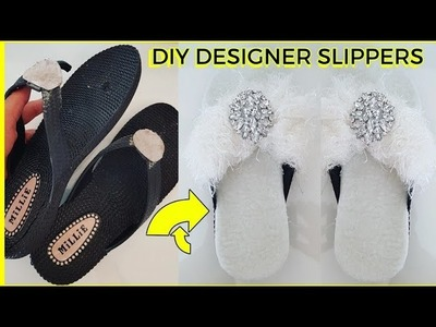 Waste Material craft Idea | Easy and Simple Life Hacks| Reuse old slippers | Best out of waste idea