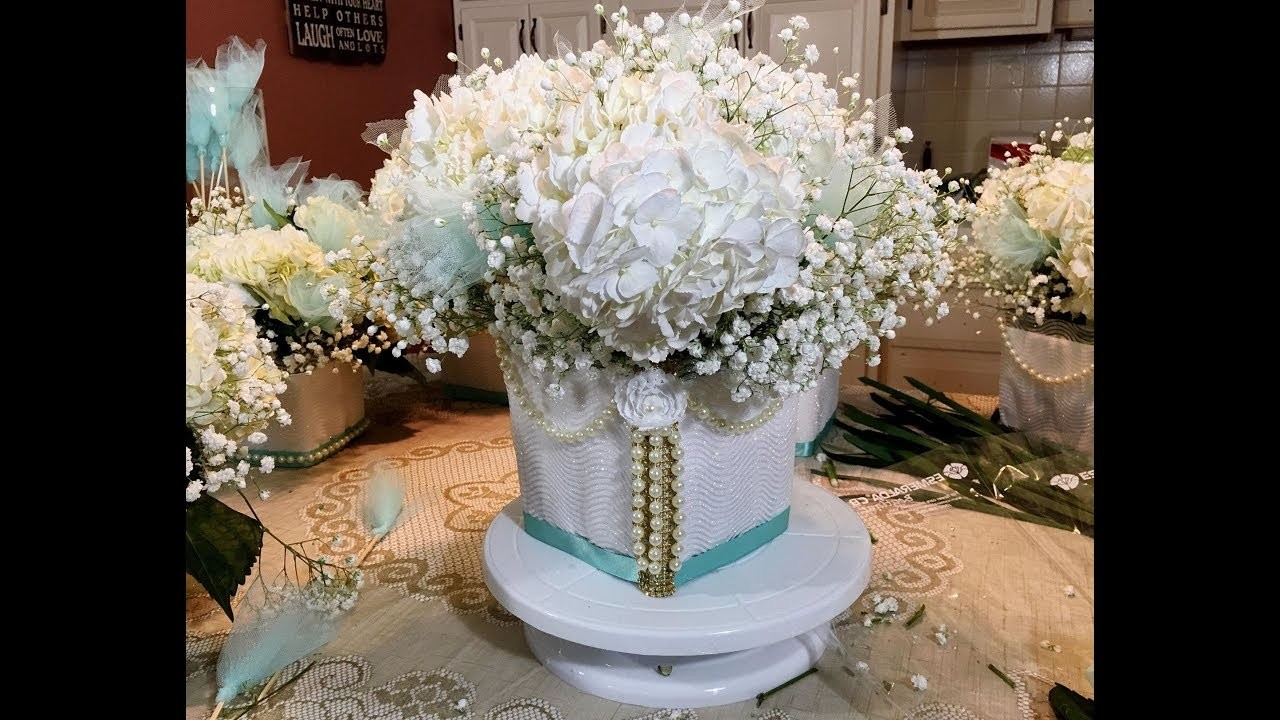 Weddings   Events   Wedding Bling Centerpiece   DIY Tutorial
