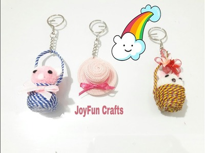 2 DIY. How to make Keychain - very easy