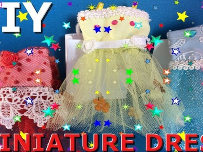 3 CUTE DOLL OUTFITS | HOW TO MAKE DOLL CLOTHES (GET FREE PATTERN)