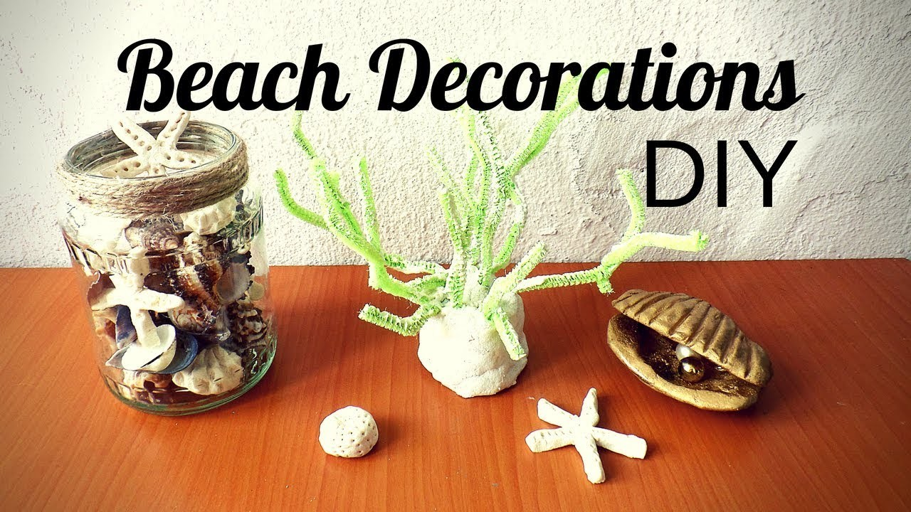 Beach Decorations Diy Coastal Room Decor Ideas Make Sea Creatures