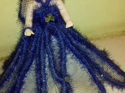Crochet doll pattern || woollen doll