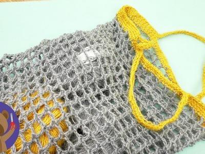 Crochet Your Own Bag | Awesome Summer Crochet Projects | Net Crochet Pattern
