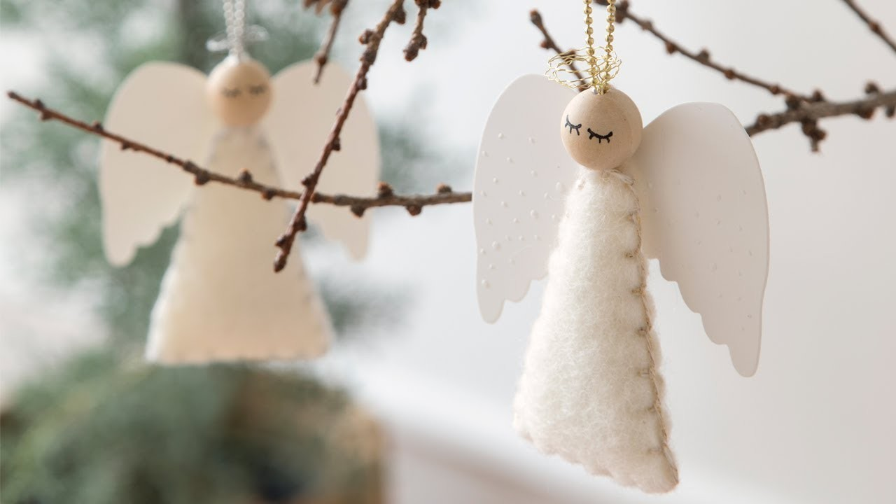 DIY : FLYING ANGEL by Søstrene Grene