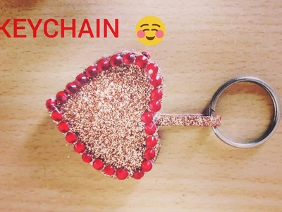 DIY KEYCHAIN.EASY TO MAKE KEYCHAIN.HOW TO MAKE KEYCHAIN