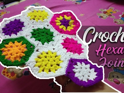 Simple Easy Crochet How To Join Hexagon Pattern 10 Easy Crochet