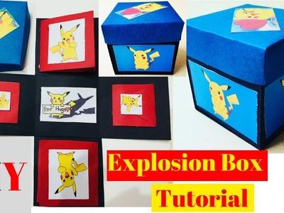 Explosion Box Tutorial For Beginners | DIY Explosion Box For Birthday. Anniversary | Easy Tutorial