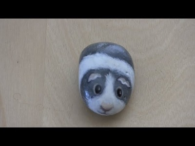 How paint a Guinea Pig Rock-- By Wendy Wu