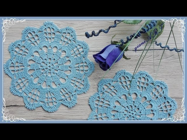 How to CROCHET DOILY step by step