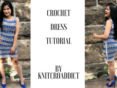 How to crochet Dress