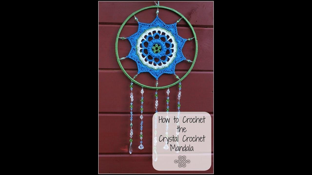 How to Crochet the Crystal Crochet Mandala