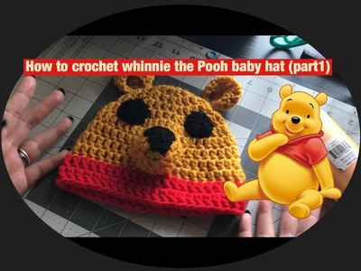 How to crochet whinnie the Pooh baby set part 1