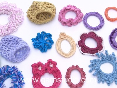 How to decorate hair ties