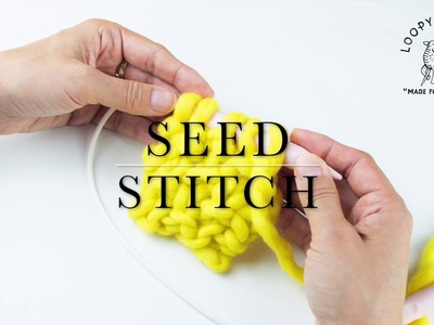 How to knit Seed (Moss) Stitch