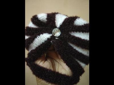 "How to knitt पगड़ी वाली टोपी Knitting lessson #37""#2018"