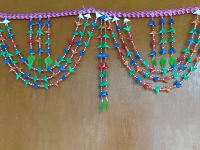 How to make a beautiful Toran from straws