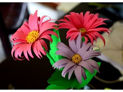How To Make Flower With Paper : How To Make Flowers
