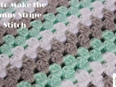 How to Make the Granny Stripe