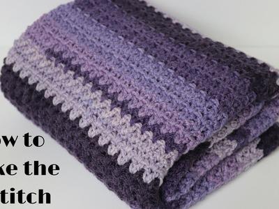 How to Make the V-Stitch