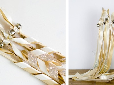 HOW TO  MAKE WEDDING WANDS | SIMPLY DOVIE