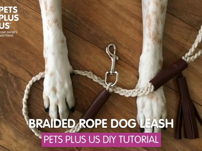 How To Make Your Own Dog Leash - Tutorial