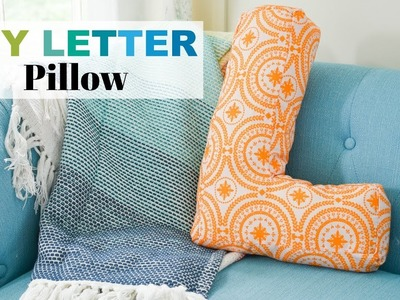 How to Sew a Letter Pillow