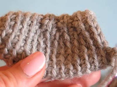 How to Single Crochet in FL of one row below